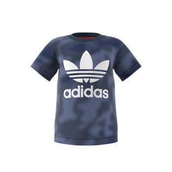 Textil Rapaz T-Shirt mangas curtas adidas Originals GN4116 Azul