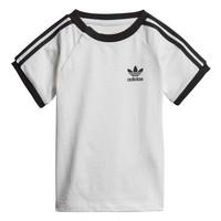 Textil Criança T-Shirt mangas curtas adidas Originals DV2824 Branco
