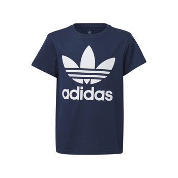 Textil Criança T-Shirt mangas curtas adidas Originals GD2679 Azul