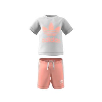 Textil Criança Conjunto adidas Originals GN8192 Branco