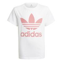 Textil Criança T-Shirt mangas curtas adidas Originals HOULILA Branco