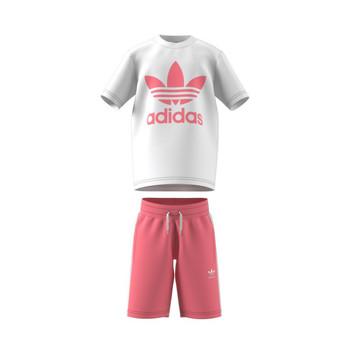 Textil Criança Conjunto adidas Originals COLIPA Branco
