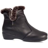 Sapatos Mulher Botas de neve Calzamedi ANKLE BOOTS  POLAR W 0640 PRETO