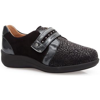 Sapatos Mulher Sapatos & Richelieu Calzamedi SAPATOS  ELASTICO ESPECIAIS JUANETES 0748 NEGRO