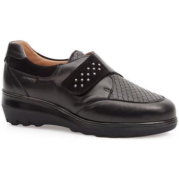 Sapatos Mulher Sapatos & Richelieu Calzamedi SAPATOS ELÁSTICOS  0745 NEGRO