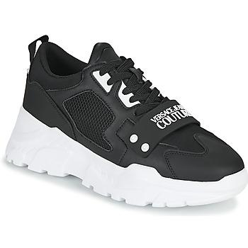Sapatos Homem Sapatilhas Versace Jeans Couture THANNA Preto