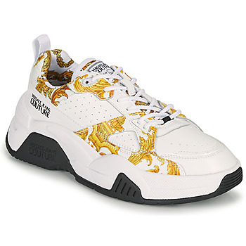 Sapatos Mulher Sapatilhas Versace Jeans Couture MINAFI Branco / Ouro