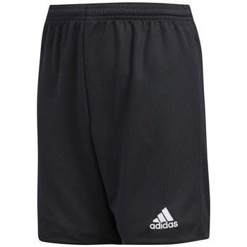 Textil Rapaz Shorts / Bermudas adidas Originals JR Parma 16 Preto