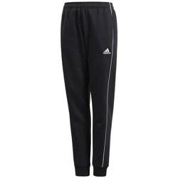 Textil Rapaz Calças de treino adidas Originals JR Core 18 Preto