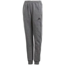 Textil Rapaz Calças de treino adidas Originals JR Core 18 Cinzento