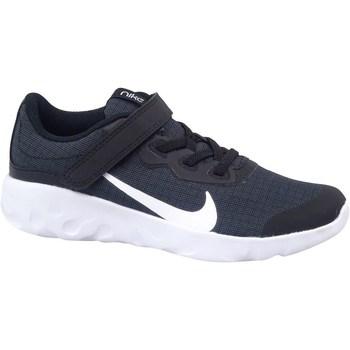 Sapatos Criança Sapatilhas Nike Explore Strada Branco, Azul marinho