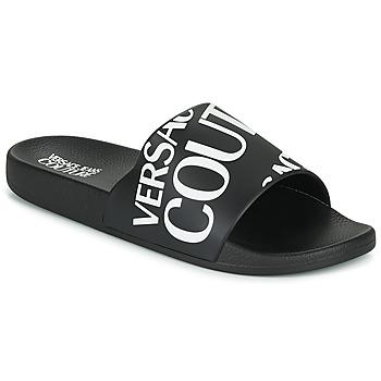 Sapatos Homem chinelos Versace Jeans Couture TENNIA Preto / Branco