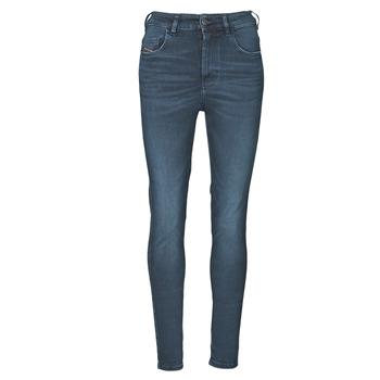 Textil Mulher Gangas Skinny Diesel D-SLANDY-HIGH Azul