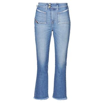 Textil Mulher Calças de ganga bootcut Diesel D-EARLIE-H Azul