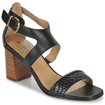 Sapatos Mulher Sandálias JB Martin 1NAWELI Preto / Cinza