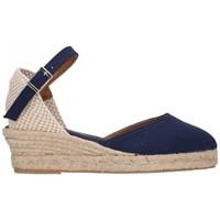 Sapatos Mulher Alpargatas Fernandez 682 3C marino Mujer Azul marino bleu