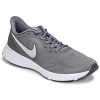 Sapatos Homem Sapatilhas de corrida Nike REVOLUTION 5 Cinza