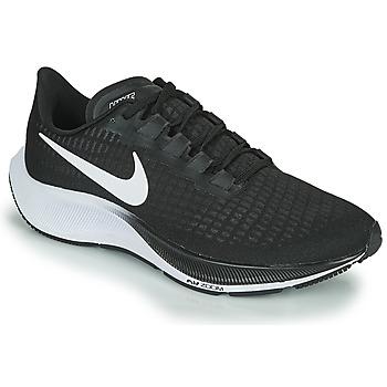 Sapatos Homem Sapatilhas de corrida Nike AIR ZOOM PEGASUS 37 Preto / Branco