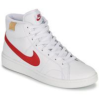 Sapatos Homem Sapatilhas Nike COURT ROYALE 2 MID Branco / Vermelho