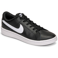 Sapatos Homem Sapatilhas Nike COURT ROYALE 2 LOW Preto / Branco