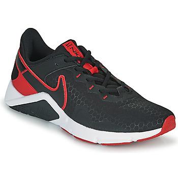 Sapatos Homem Multi-desportos Nike LEGEND ESSENTIAL 2 Preto / Vermelho