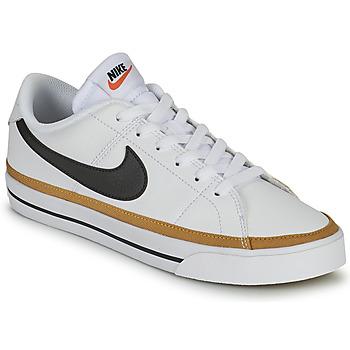 Sapatos Mulher Sapatilhas Nike COURT LEGACY Branco / Azul