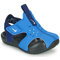 Sapatos Rapaz chinelos Nike SUNRAY PROTECT 2 TD Azul