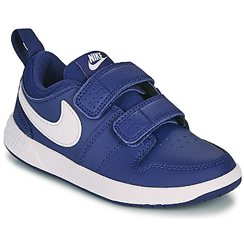 Sapatos Rapaz Sapatilhas Nike PICO 5 PS Azul / Branco