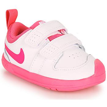 Sapatos Rapariga Sapatilhas Nike PICO 5 TD Branco / Rosa