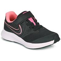 Sapatos Rapariga Multi-desportos Nike STAR RUNNER 2 PS Preto / Rosa