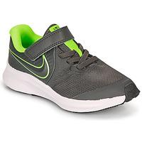 Sapatos Rapaz Multi-desportos Nike STAR RUNNER 2 PS Cinza / Verde