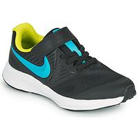 Sapatos Rapaz Multi-desportos Nike STAR RUNNER 2 PS Preto / Azul