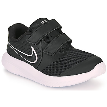 Sapatos Criança Multi-desportos Nike STAR RUNNER 2 TD Preto / Branco