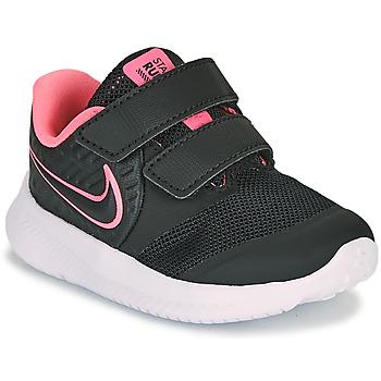 Sapatos Rapariga Multi-desportos Nike STAR RUNNER 2 TD Preto / Rosa