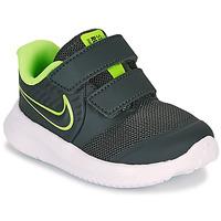 Sapatos Rapaz Multi-desportos Nike STAR RUNNER 2 TD Preto / Verde