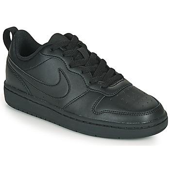 Sapatos Criança Sapatilhas Nike COURT BOROUGH LOW 2 GS Preto