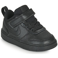 Sapatos Criança Sapatilhas Nike COURT BOROUGH LOW 2 TD Preto