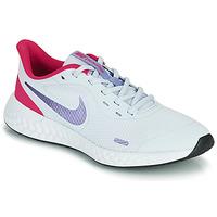 Sapatos Rapariga Multi-desportos Nike REVOLUTION 5 GS Azul / Violeta