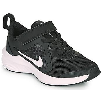 Sapatos Criança Multi-desportos Nike DOWNSHIFTER 10 PS Preto / Branco