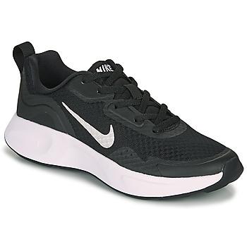 Sapatos Criança Multi-desportos Nike WEARALLDAY GS Preto / Branco