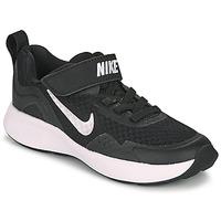 Sapatos Criança Multi-desportos Nike WEARALLDAY PS Preto / Branco