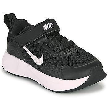 Sapatos Criança Multi-desportos Nike WEARALLDAY TD Preto / Branco