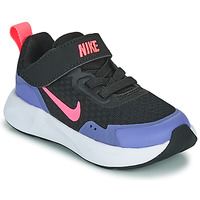Sapatos Rapariga Multi-desportos Nike WEARALLDAY TD Preto / Azul