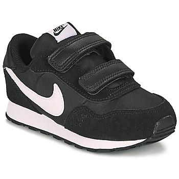 Sapatos Criança Sapatilhas Nike MD VALIANT TD Preto / Branco