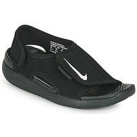 Sapatos Criança chinelos Nike SUNRAY ADJUST 5 V2 PS Preto
