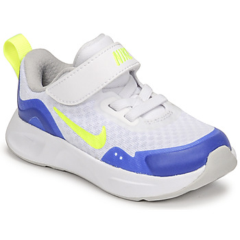 Sapatos Criança Multi-desportos Nike NIKE WEARALLDAY Branco / Azul / Verde