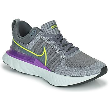 Sapatos Homem Sapatilhas de corrida Nike NIKE REACT INFINITY RUN FLYKNIT 2 Cinza