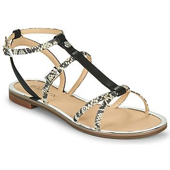 Sapatos Mulher Sandálias JB Martin 1GRIOTTES Branco / Preto