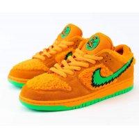 Sapatos Sapatilhas Nike SB Dunk Low x Grateful Dead Orange Bright Ceramic/Green Spark