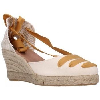Sapatos Mulher Alpargatas Carmen Garcia 41s5 mostaza Mujer Amarillo jaune